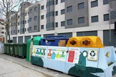 Desde el 1 de octubre, la recogida de basura se ha ampliado a seis días a la semana en Valdeluz