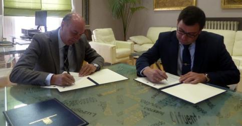 La Diputación y Asociación Gentes de Guadalajara firman un convenio de 6.000 euros para la organización de actividades