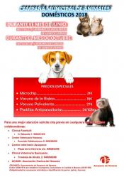 Nueva campaña de vacunación para mascotas de Azuqueca