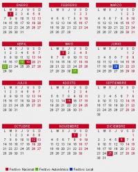 Calendario Festivo.El Calendario Laboral De 2019 Recoge 12 Dias Festivos Solo