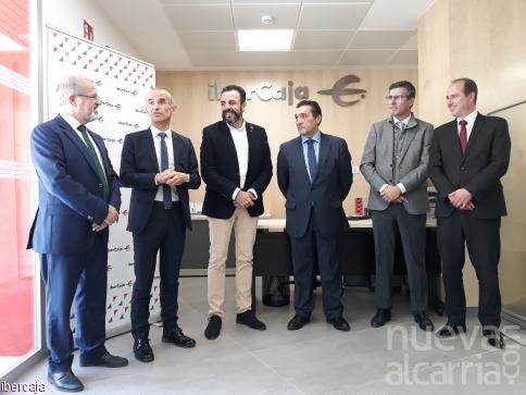 Ibercaja inaugura una nueva oficina en Azuqueca