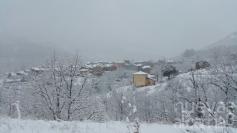 Alerta por nieve en Guadalajara este martes