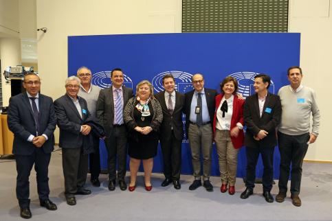 Page defiende en Bruselas la posición del sector agrícola y ganadero para garantizar el blindaje del presupuesto de la PAC