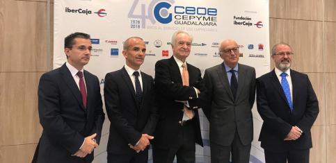 El presidente de Ibercaja aborda en Guadalajara los retos y oportunidades de la economía