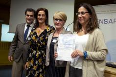 El Hospital revalida el título de 'Hospital Activo en SENSAR, hospital seguro'