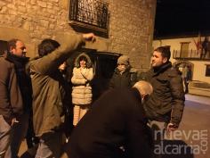 Los vecinos de Alcolea salen a la calle en plena noche hartos de la oleada de robos