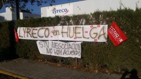 La empresa Lyreco y el Comité de Empresa llegan a un acuerdo tras cuatro días de huelga