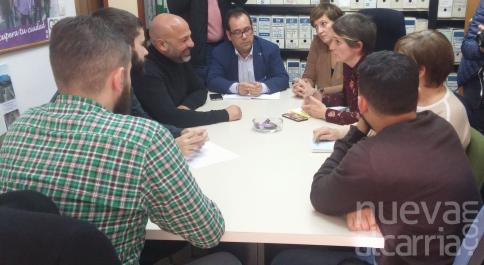 García Molina se reúne con los concejales de Ahora