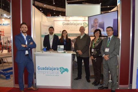'Guadalajara Empresarial' promociona en la feria