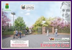 Presentado el proyecto del nuevo parque familiar de Cabanillas, que llevará el nombre de Elena de la Cruz