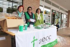 Provechosa jornada de cuestación contra el cáncer de la Asociación de Mujeres