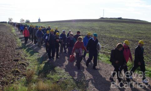 Más de 540 mayores han participado en el programa de rutas senderistas de la Junta