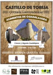 Diputación propone una jornada gastronómica con alimentos de Guadalajara este sábado en el castillo de Torija