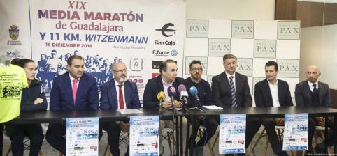 La Media Maratón de Guadalajara reunirá este domingo a más de mil corredores
