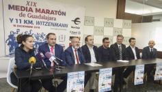 La Media Maratón de Guadalajara se celebrará este domingo, 16 de diciembre