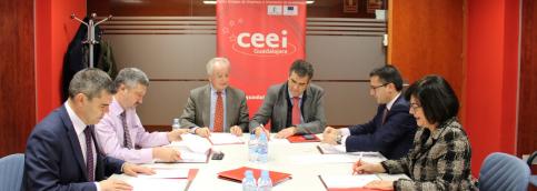 El CEEI Guadalajara cierra el año con el 95 por ciento de ocupación