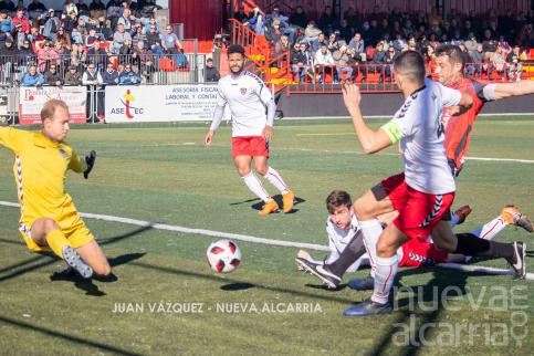 5-1: Goleada histórica del Azuqueca ante un Deportivo agonizante