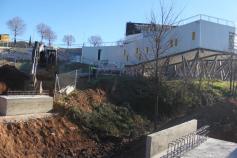 La pasarela peatonal sobre el arroyo Cabanillas estará lista en dos semanas