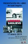 Isaak Begoña presenta este jueves el libro 'Londres-Sarajevo'