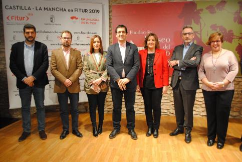 El stand de Castilla-La Mancha en Fitur acogerá más de 90 presentaciones de las cinco provincias
