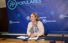 Valmaña está convencida de que los castellano-manchegos no van a facilitar que se reedite la coalición PSOE-Podemos