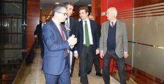 Guadalajara muestra su 'músculo empresarial' ante Pablo Casado