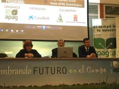 Diputación destinará 20.000 euros a la formación de los agricultores y ganaderos de la provincia