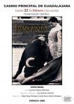 Presentación del libro Juan Mora, el toreo en verso este jueves en el Casino Principal