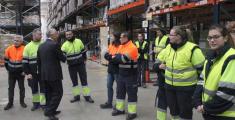 La planta de Luís Simões de Cabanillas emplea a 250 personas