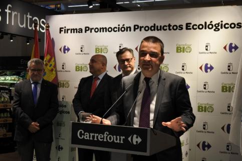 Los productos ecológicos certificados de Castilla-La Mancha están ya identificados en los lineales