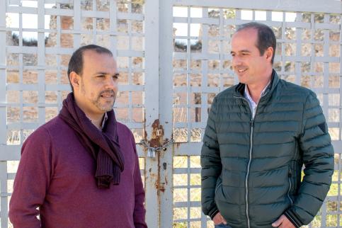 Alberto Rojo trazará un plan para recuperar el patrimonio de la ciudad