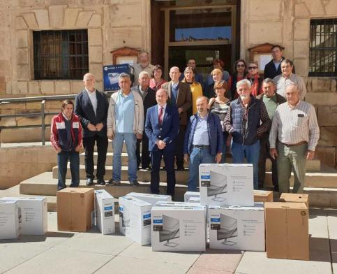 Diputación completa en Molina la entrega de 143 equipos informáticos a ayuntamientos