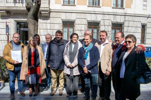 El PSOE registra las candidaturas al Congreso y al Senado