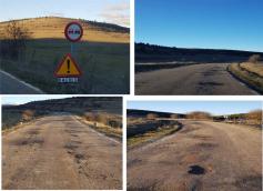 Las Cortes de CLM rechazan una propuesta del PP que pedía arreglar una carretera de la Sierra Norte