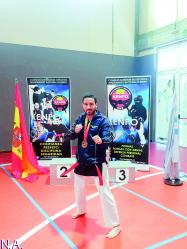 Emilio Mínguez logra un nuevo título nacional a las puertas del Mundial