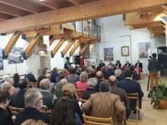 Conferencia sobre literatura y arte en el Centro CeLA de Almonacid de Zorita