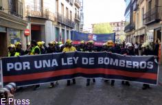 Bomberos de toda la región demandan en Toledo una ley de coordinación que homogeneice y coordine los distintos servicios