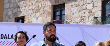 Valerio amadrina la candidatura de Luis Viejo para su reelección como alcalde de Brihuega