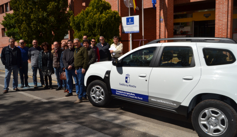 Las Oficinas Comarcales Agrarias estrenan 11 vehículos