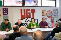 Valerio destaca el entendimiento del Gobierno de Pedro Sánchez con los agentes sociales