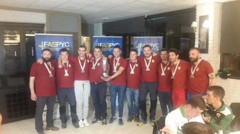 La selección de Castilla-La Mancha, con cinco miembros de Guadalajara, subcampeona de España de pesca