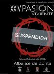 Suspendida la representación viviente estática de Albalate de Zorita