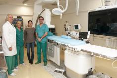 Profesionales de Hemodinámica del Hospital  se forman en el manejo de los nuevos equipos