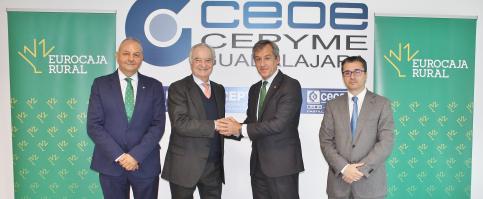 Eurocaja Rural y CEOE renuevan su apuesta por el desarrollo empresarial