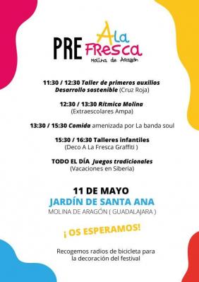 Pre a la fresca Molina de Aragón | NuevaAlcarria - Guadalajara