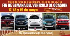 Más de 100 coches llenarán la plaza de toros de Guadalajara en el Fin de Semana del Vehículo de Ocasión