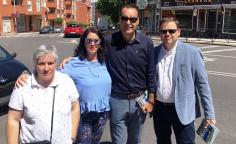 """Antonio de Miguel: """"Aliviar la pobreza es uno de los desafíos más importantes que nos encontraremos al llegar al Ayuntamiento"""""""