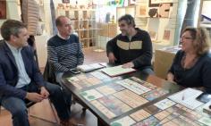 Rojo se compromete a contar con el sector artesano en las actividades de dinamización cultural y turística de Guadalajara