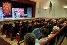 """Bellido pide en Jadraque """"un esfuerzo de movilización para conseguir votos útiles para seguir recuperando Castilla-La Mancha"""""""