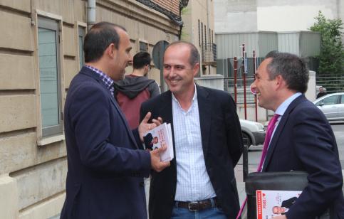 """Bellido y Rojo insisten en la necesidad de concentrar el voto en el PSOE para que """"Guadalajara y Castilla-La Mancha se abracen y progresen juntas"""